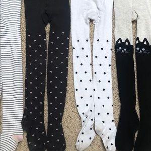 Bundle of girls tights